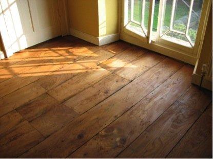Wooden Floor Renovation Georgian Wide Elm Planks